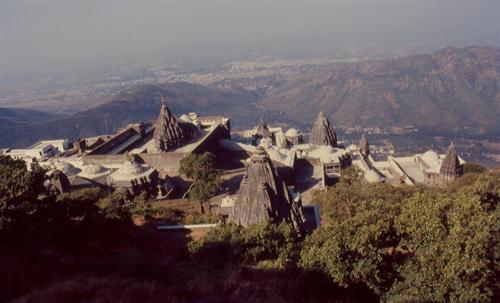 Jain temples on girner hills junagarh