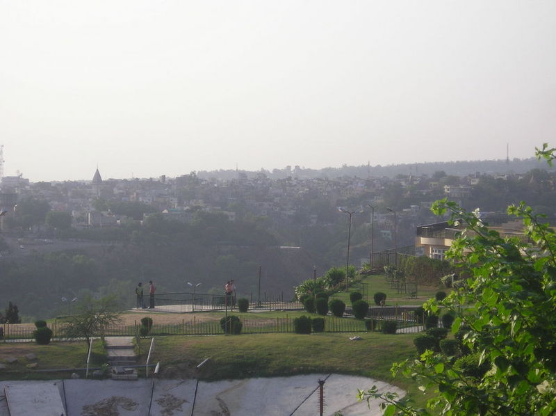 Jammu city from bahu fort