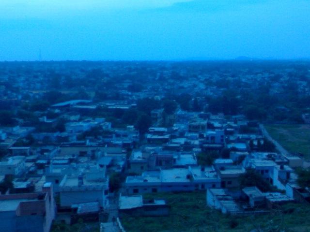 Jhansi from Hilltop