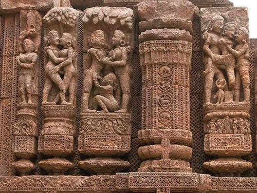Konark Temple, sculpture art