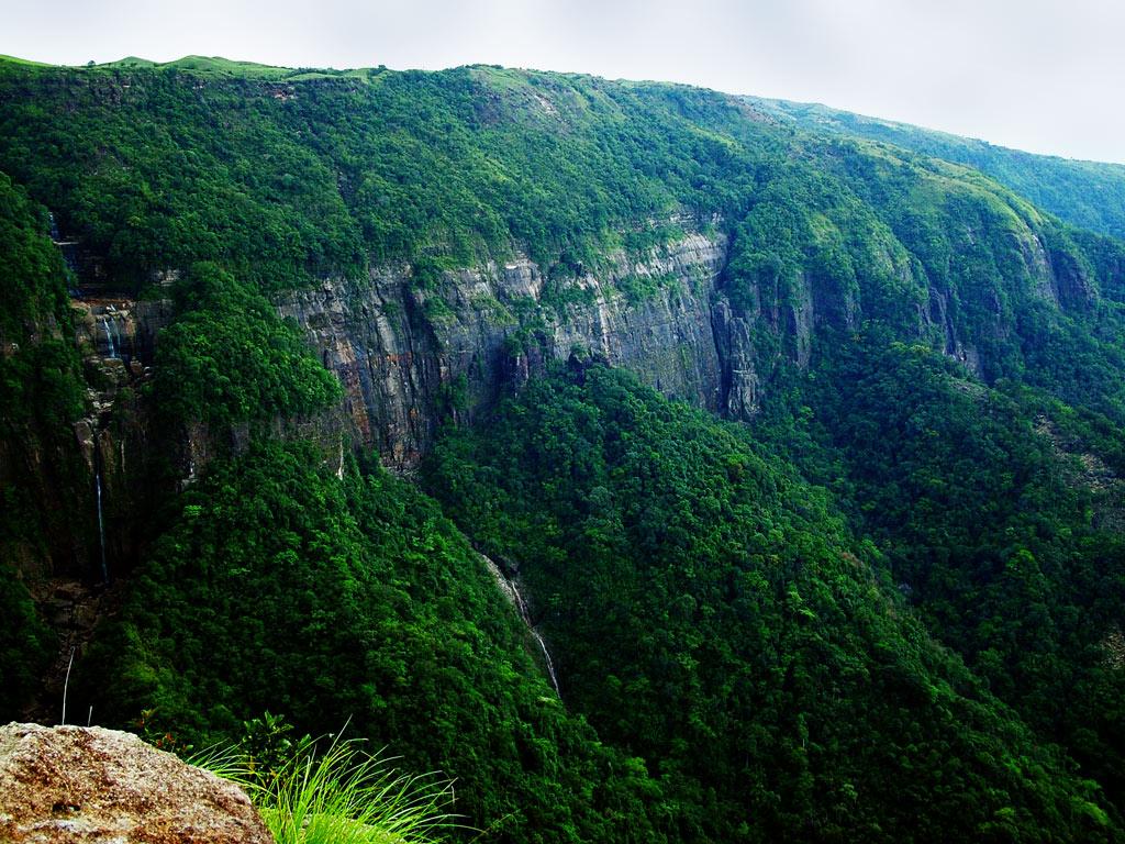 Landscape of Cherapunji