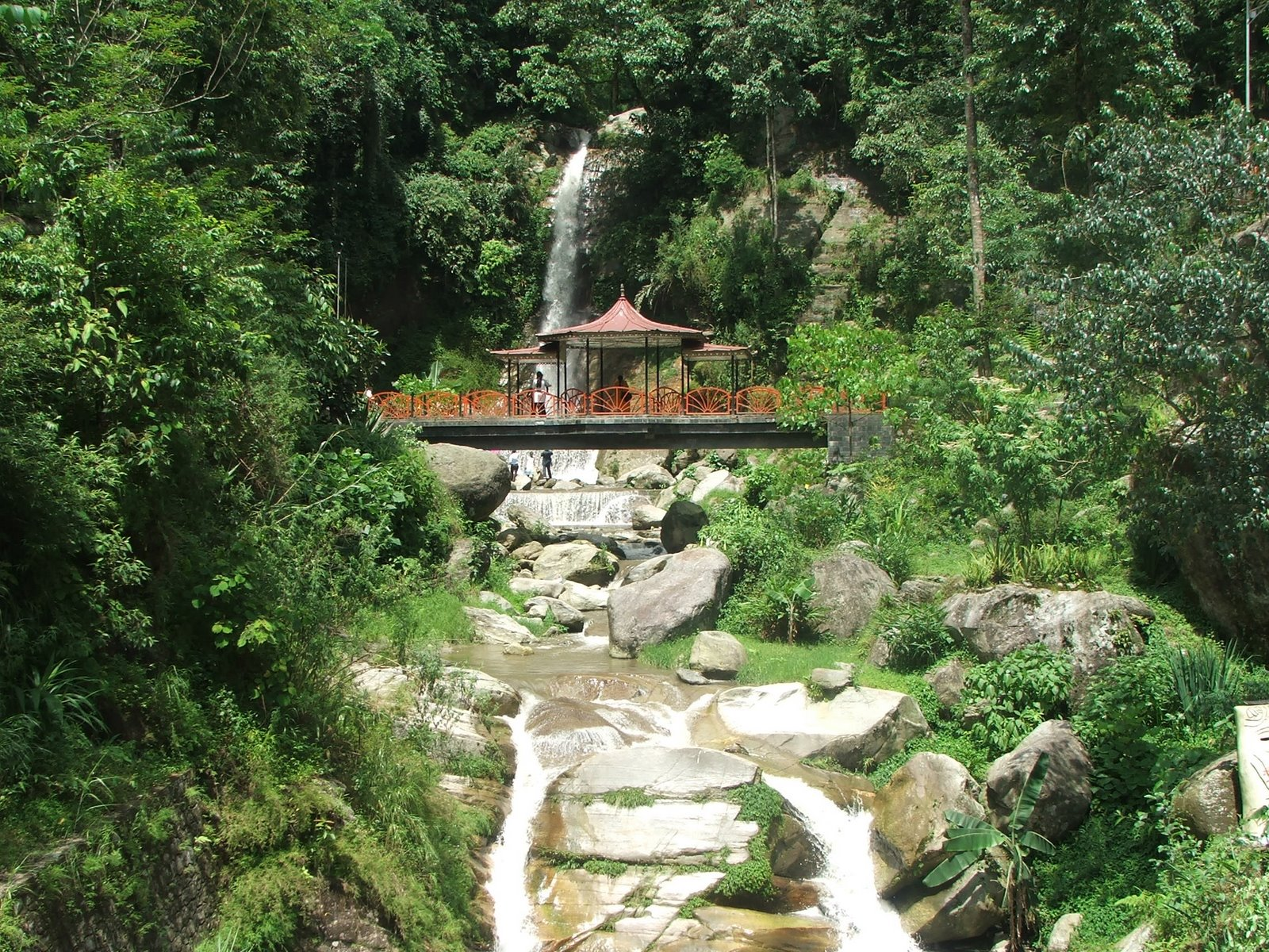 Landscape of Gangtok