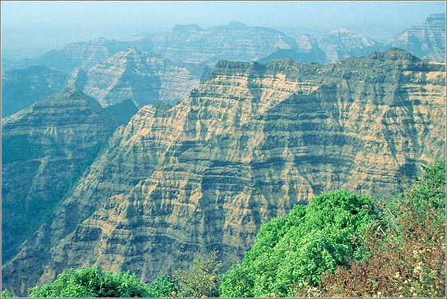 Landscape of Mahableshwar