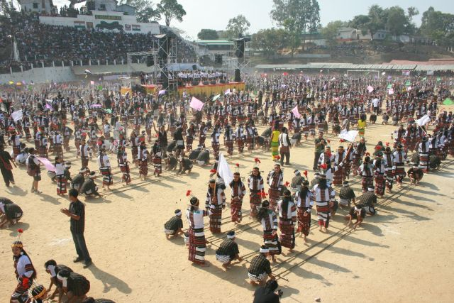 Lunglei Tribal Dance