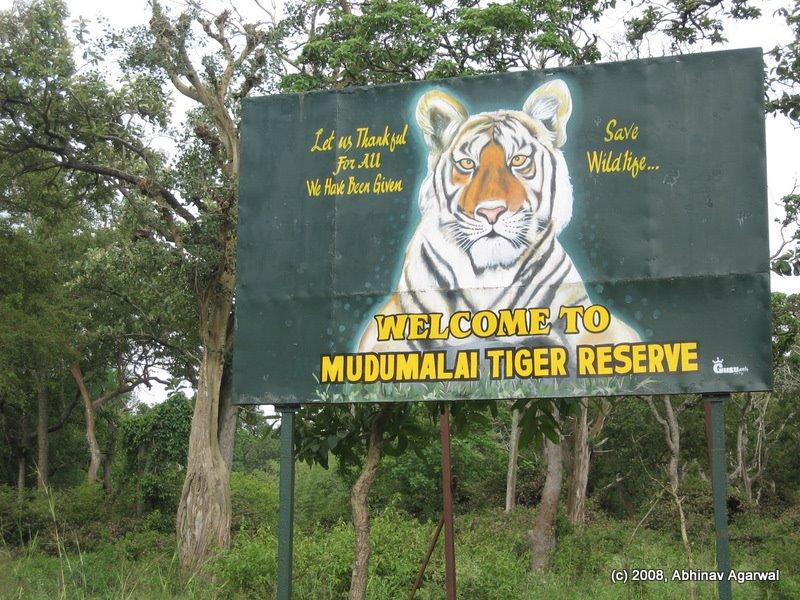 Madumalai Tiger Reserv Park