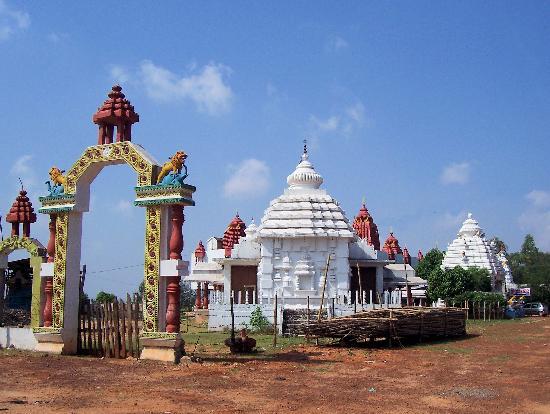 Mausi maa temple in bidanasi