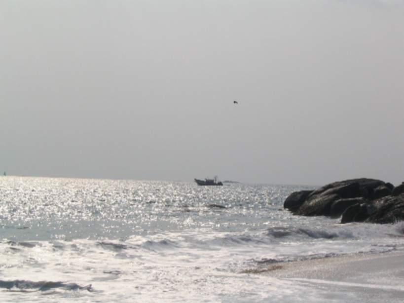 Muttom Beach Kanyakumari