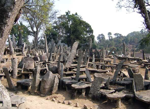 Nartiang Megalithes