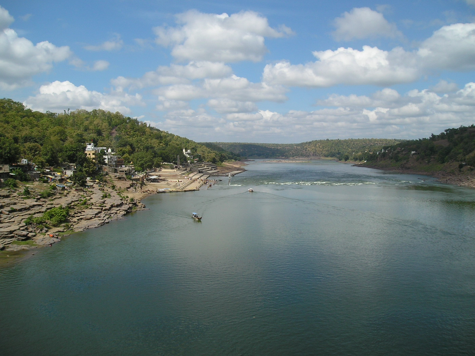 Omkareshwar Narmada River