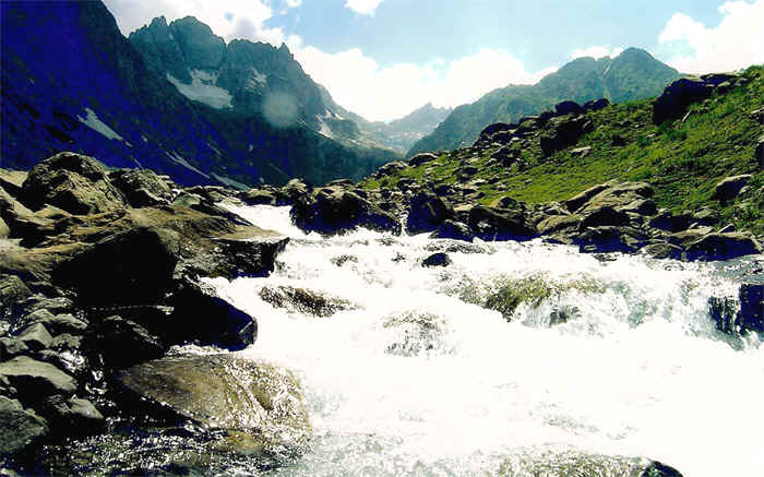 Pahalgam landscape