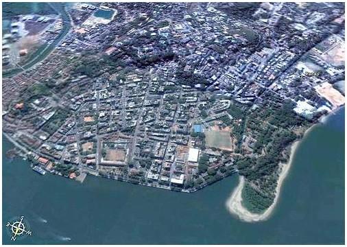 Panaji City Ariel view