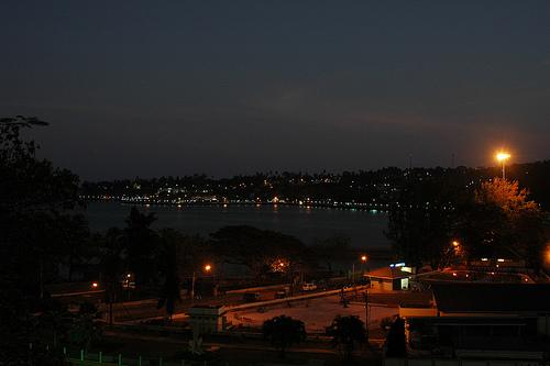 Port Blair at night