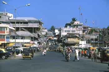 Port Blair city center