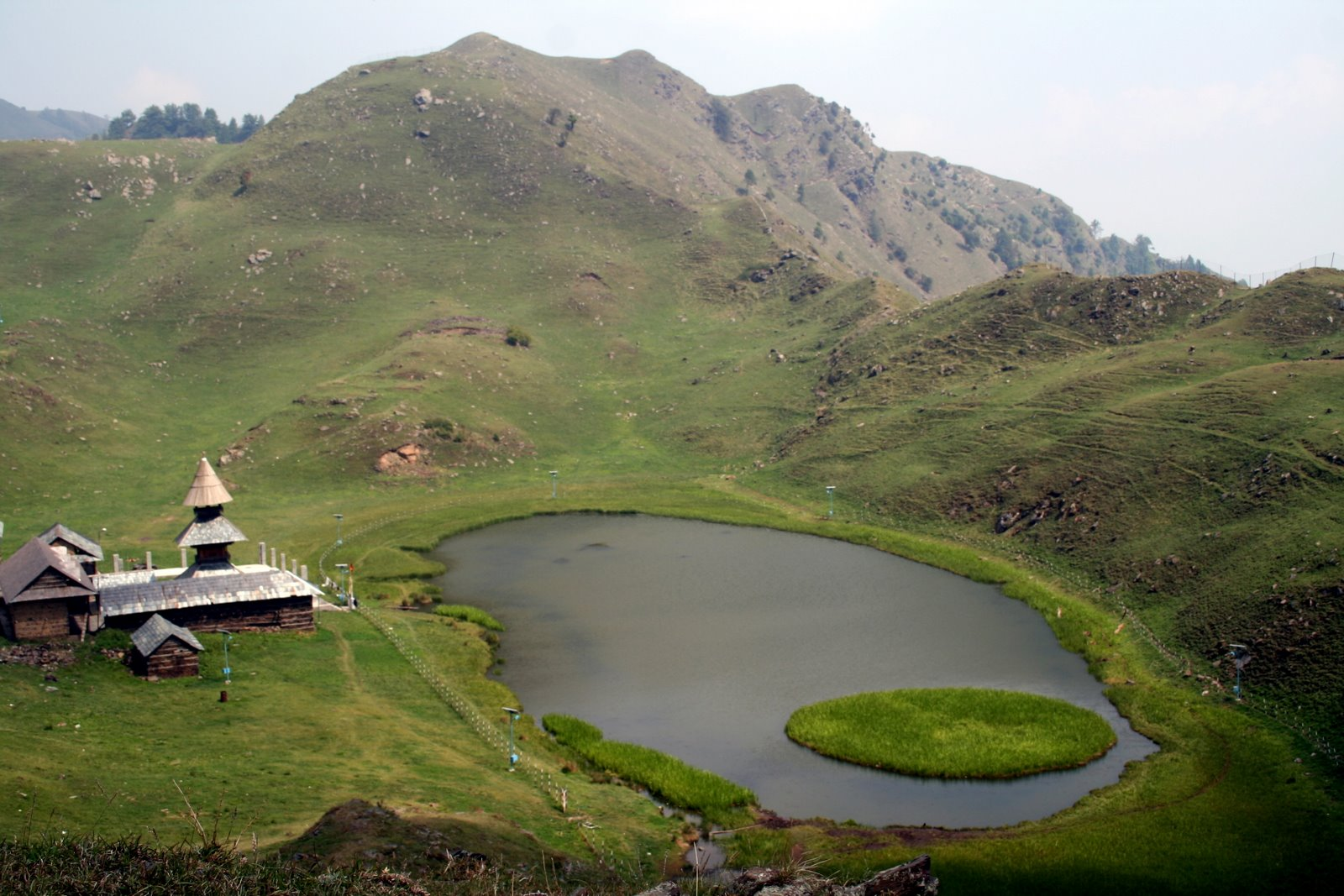 Prashar lake Near Mandi