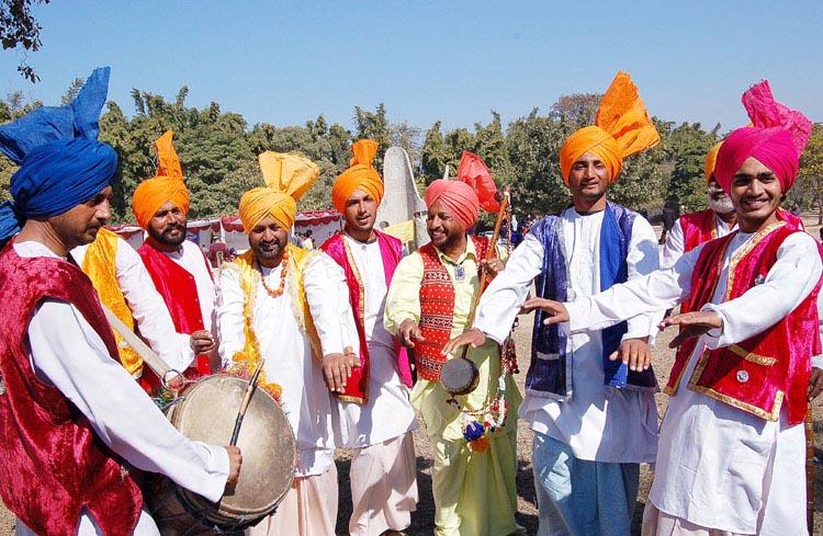 Pujabi Folk Dance