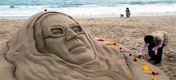 Sand art bhubaneshwar