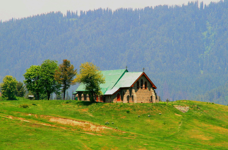 Scenic beauty of Gulmarg