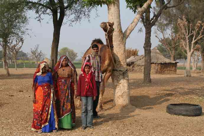 Shekhawati Villager