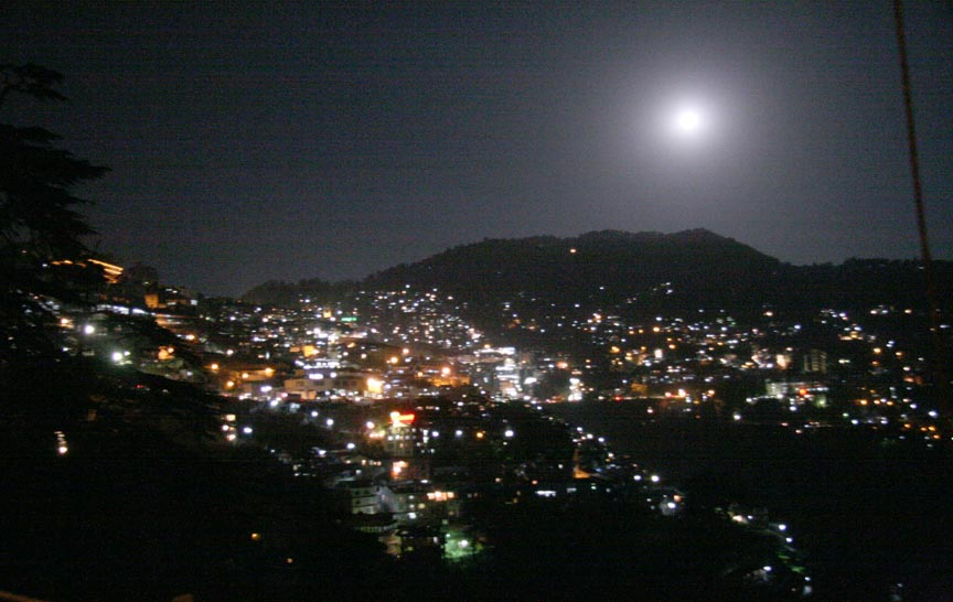 Shimla in night