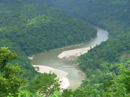 Simsang River Garo Hills