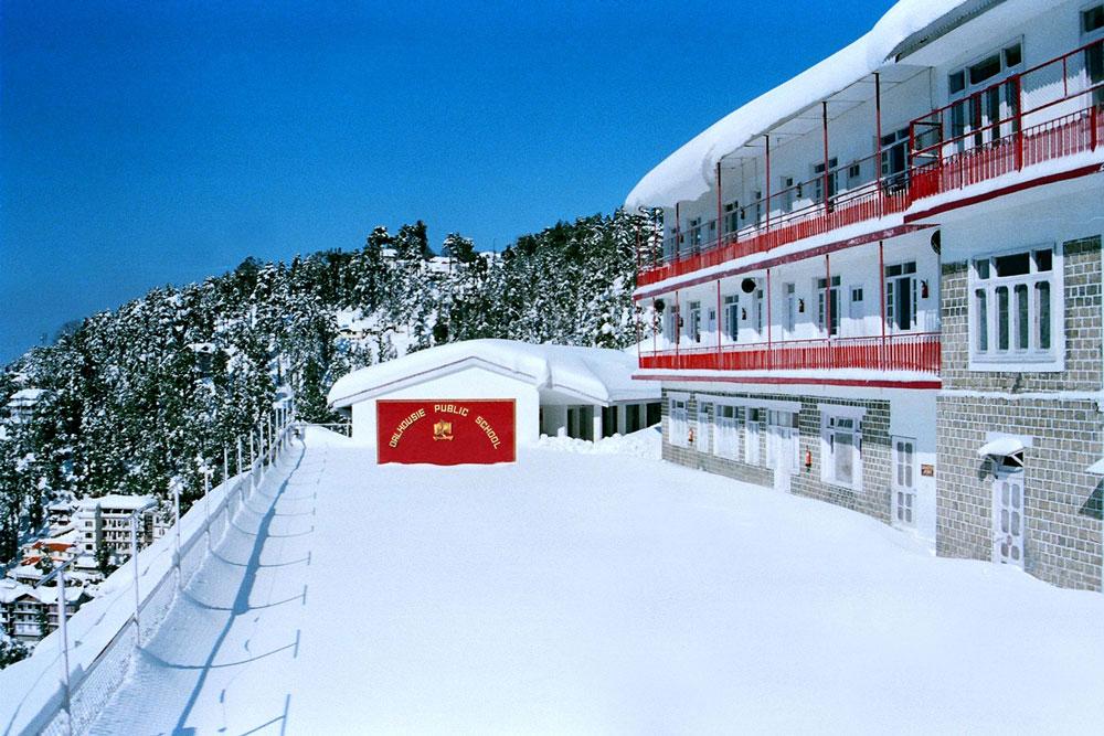 Snow View of Dalhousie