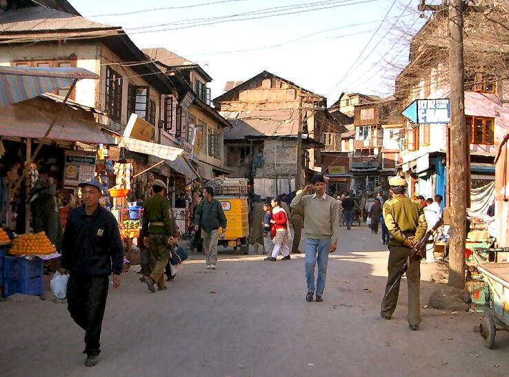 Srinagar city