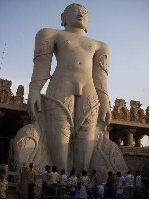 Statue of Gomateshwara,Bahubali
