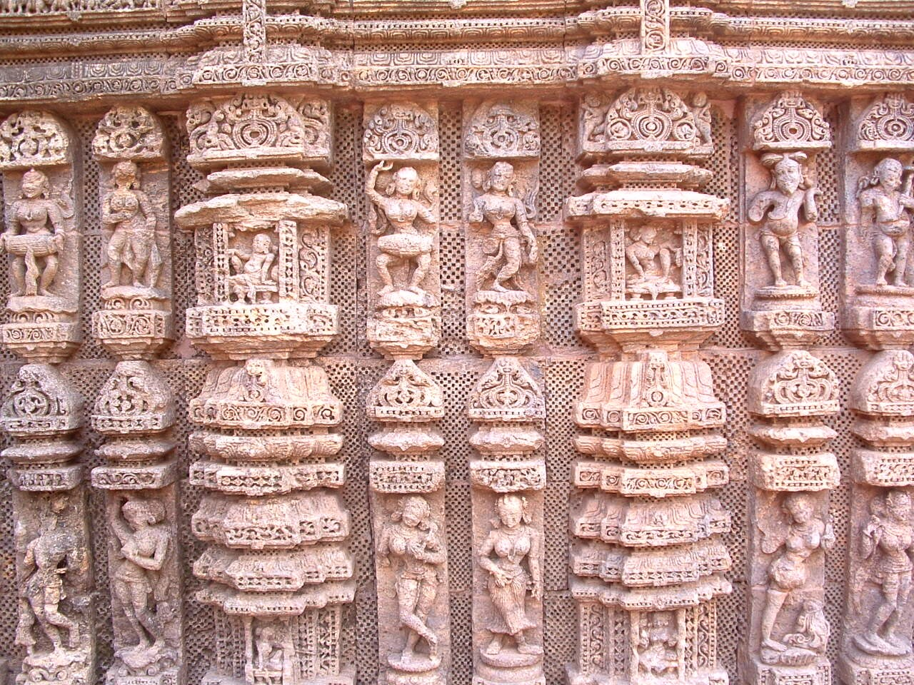 Stone work at Konark Orissa