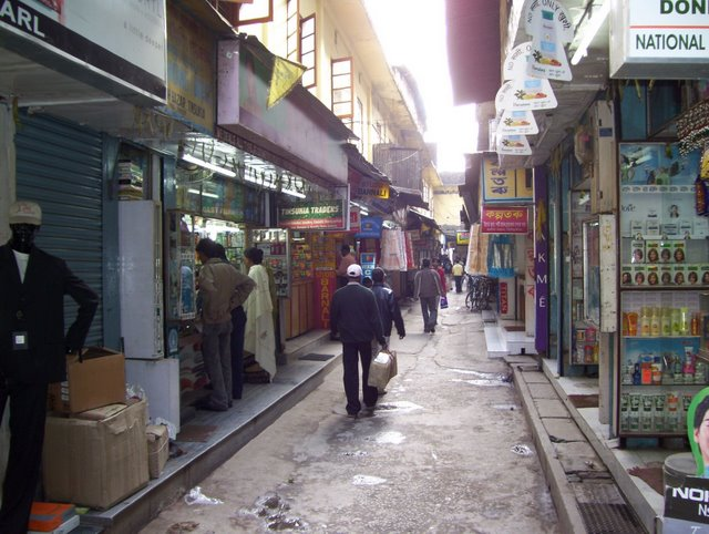 Street scenes of Digboi town