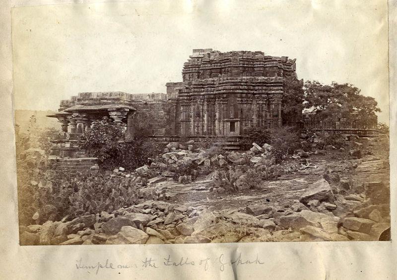 Temple in the Gokak Falls