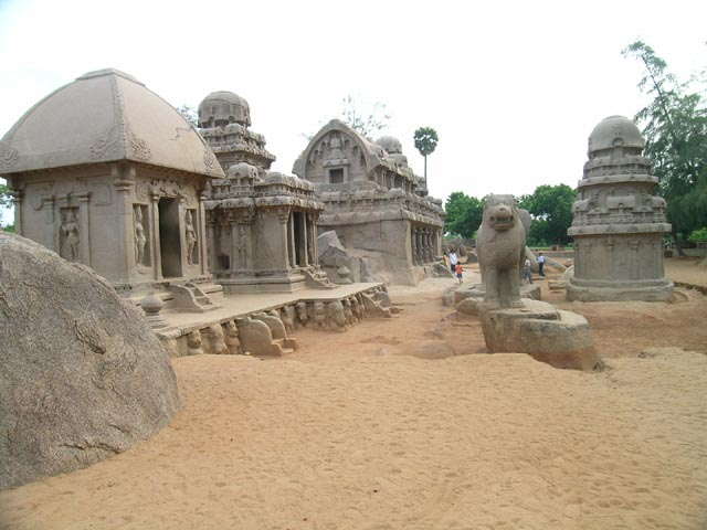 The Five Rathas Mahabalipuram
