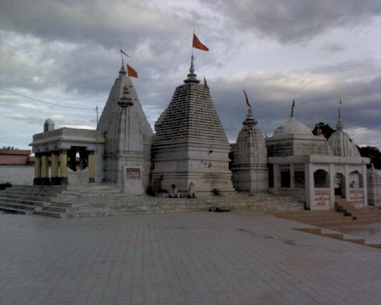 The Narmada Mandir in Amarkantak