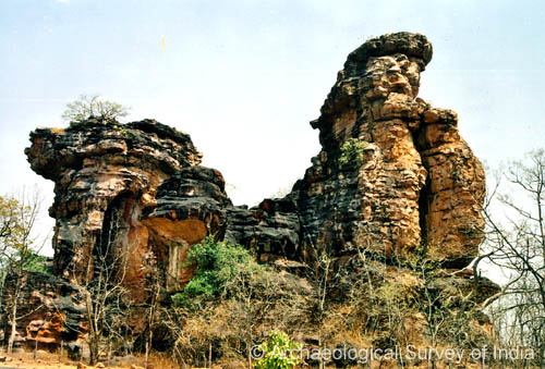 The Rock Shelters of Bhimbetka