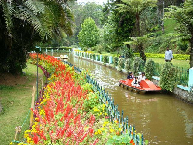 The Sim's Park in Coonoor