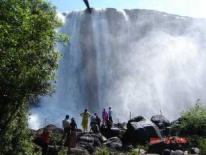 Thrissur Falls Amazing View