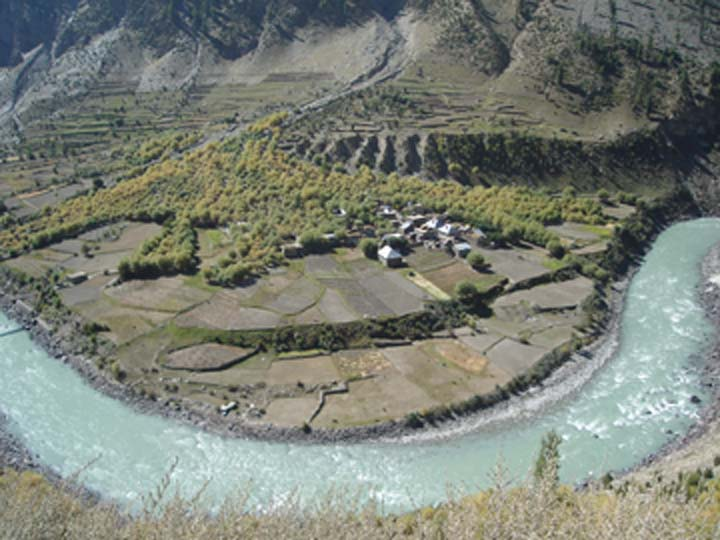 Tino Village in Kannaur Valley