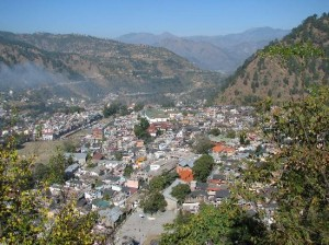 View of chamba town