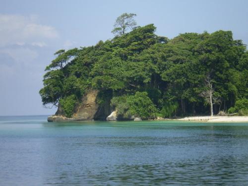 An island near port blair