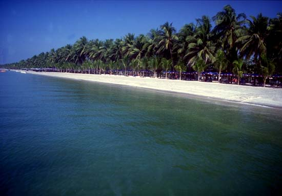 Beach at Andaman and Nicobar Islands