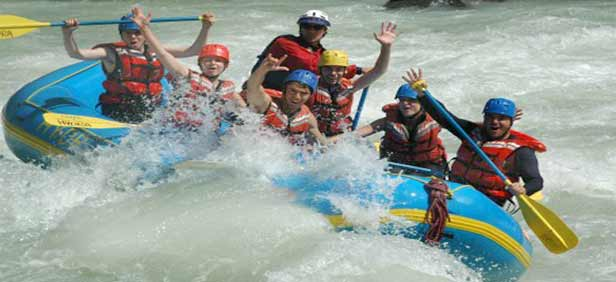 Bhalupong river rafting