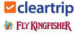 Fly Kingfisher with Cleartrip