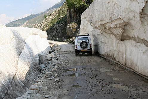 lahaul and spiti on the road