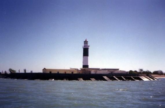 Marine national park light house jamnagar