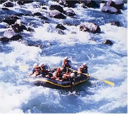 River Rafting in Arunachal River