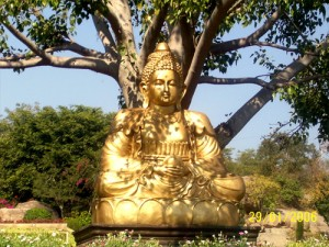 Ramoji film city golden buddha hyderabad