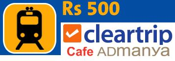 Train Tickets Booking on Cleartrip