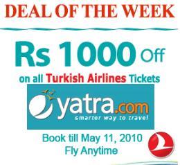 Cashback on Turkish Airlines