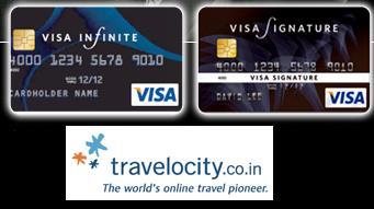 Visa Card Offer from Travelocity